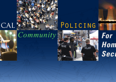 Tactical Community Policing for Homeland Security