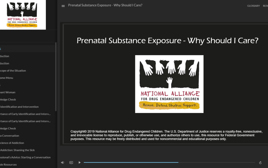 Prenatal Substance Exposure – Why Should I Care?